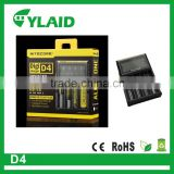 hybrid car battery chargers in stock wholesale high drain 18650 battery chargers nitecore d4