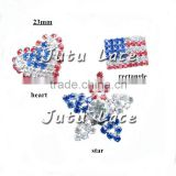 Fast Delivery Wholesale American National Flag / Stars and heart, fashion halloween accessories