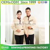 New design high quality restaurant hotel uniform housekeeping staff cleaner waitress uniform