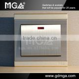 MGA Q7 series 45A Double Pole electric switch &water heater flow switch&switch power supply