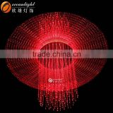 fiber optic waterfall night light,fiber optic outdoor lighting,banquet hall lighting fiber optic om955