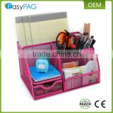 Best Selling Mesh Closet Drawer Office Mesh Desk Organizer Set for Pen and Notes