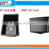 Acid Resistant Polypropylene Laboratory Water Sinks With PP Drain PIpe And Drain Bottle Trap