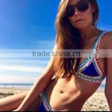 Multicolor 2016 hot style swimsuit hot swimsuit crochet bikini woman hand-made by Europe and the United States hot style bikini