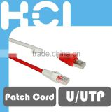 RJ45 8P8C Cat 6 U/UTP Ultra High Density Patch Cord for Patch Panel