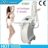 Vacuum+bipolar RF+ Infrared +Roller Massage fitness&slimming machine PZ807 by PZ Slimming!!
