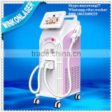 Redness Removal Ipl Laser Hair Removal Device / Ipl Laser 640-1200nm Equipment For Beauty Salon / Ipl Laser For Hair Removal Painless