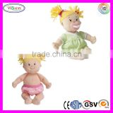 B065 Soft Plush Pacifier Doll Stuffed Baby Cute Beautiful Nude Girl Doll