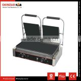 Panini Grill Double Plate Sandwich Press Grills Top Bottom Flat Surface