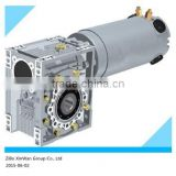 DC 12 or 24V high torque worm gear motor with dc motor wholesales China supplier