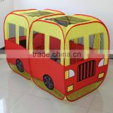 Collapsible Indoor Bus shape Play tent Kids Bus Play Tent