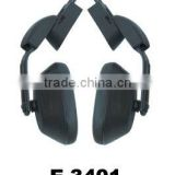 Black working protection safety earmuff