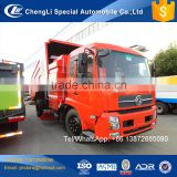 Cheap price new china street washing cleaning road broom sweeping truck 12 14 16cbm