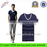 100 Cotton Custom T Shirt With Collars