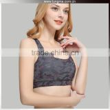 Women'S Full Support Racer Cheap Wholesale Sports Bra With Zip