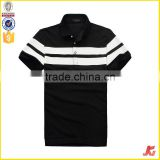 t-shirt wholesale China mens knitwear 100% cotton black polo shirt bulk polo shirts for men