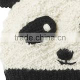 Cute Design Animal Hat Scarf Glove set,Baby Beanie hat with Panda Design