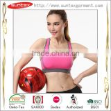 2015 Oeko Comfortable Quick Dry Breathable for women fitness wear Lady's Sports Bra