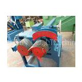 Dual Roller Tire Shredding Machine For Clean Rubber On The Bead Wires