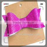 Shiny DIY Decration Party PaperBowknot Hot Selling Handcraft Glitter Cardstock Paper Holiday Supplies