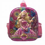 12-inch cute toddler children's backpack, 3D EVA kids' backpack, baby bag for Kindergarten and pre-school