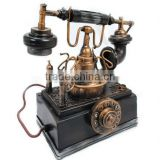 Wholesale Antique Metal Telephone Gift and Craft,Home Decoration Collection Crafts,Gifts Crafts Stocks Handmade Craft Work U.S