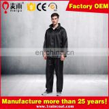 Maiyu Bicycle Raincoat Motorcycle Rain Suit Rain Jacket and Pants Set for Outdoors and Sports