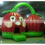Inflatable cherry bounce/inflatable fruit bounce castle/cherry jump castle