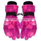 Hot sale fashion winter ski gloves for women