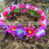 Handmade Multi-color Flower Crown Headband