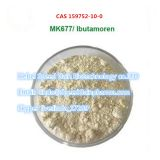 hot sale MK677 POWDER cas 159752-10-0   Ibutamoren Mesilate   linda@SpeedGainpharma.com