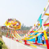 Manufacturer newest attractive thrilling rides flying UFO ride flying disco ride