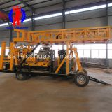 wheeled hydraulic core drilling rig XYX-44A from huaxia master large size deep hole geology drilling rig for sale