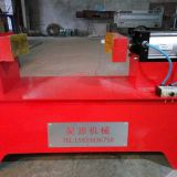 Air clamp fire extinguisher filling machine