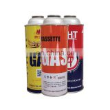 Aerosol Use Metal Material Tin Can for Butane Gas   made in china