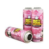 Snow spray can for party celebration diameter 45mm and 52mm
