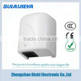 Economic warm air automatic 1500W hand drier for toilet