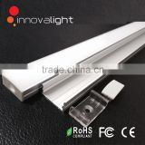 INNOVALIGHT Newest hot surface mounted aluminum LED Profile for SMD LED Strip Light with diffuser