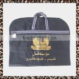 High quality pp leather cheap clear dust promotion fashion folding custom garment suit cover bag