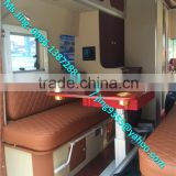 Mini mobile caravan / camper car with table, air conditioner, kitchen, bathroom, TV,awnings,etc