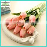 34cm mini pu real touch artificial flower tulips                                                                         Quality Choice