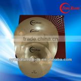 "TF brass cymbal set:10""-20""drum sets for sale"