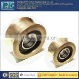 Nanjing supply high quality OEM and ODM brass casting guide roller