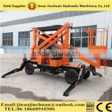Walking 10m Height Hydraulic Electric Hand Crank Up Lift