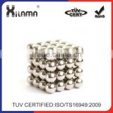 Factory Customized Ndfeb Rare Earth Magnetic Balls 17 x 5 x 3mm Permanent Magnets for Toy