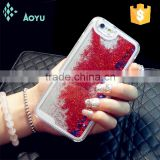 Dynamic Liquid Colorful Glitter Sparkle Stars Bling Quick Sand Luxury Phone Case for iPhone 6