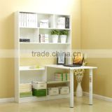 Modern simple design bookcase children study table with bookcase (SZ-FCB395)