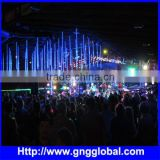 16pixels LED crystal snowfall light waterproof 3D led meteor tube modern stage lighting RGB led 3d tube light