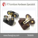 Made In Taiwan Best Selling	Highest Quality 180 Degree Plastic Furniture Wood Door Soss Hinge