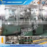 Manufactory For glass bottle juice washing bottling capping production line made in China
